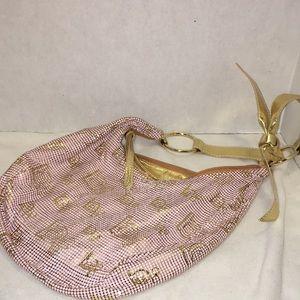 bebe Bags - Bebe metallic bag pink and gold